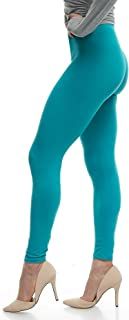 Women's Ultra Soft Leggings Stretch Fit 40+ Colors - One Size - Plus Size