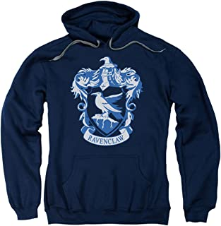 Harry Potter Ravenclaw Crest Adult Pull Over Hoodie Navy