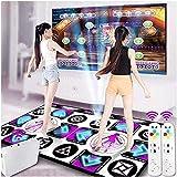 AACXRCR HD Double Dance Mat TV Interfaz Computer Dual-Use Juego Yoga Fitness Mat Máquina de Baile para niños Adultos