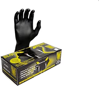 Black Mamba Super Strong Nitrile 100 Glove BOX (EXTRA LARGE)