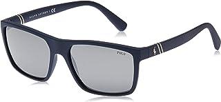 نظارات شمسية من بولو رالف لورين للرجال 0Ph4133 56186G 59 , لون كحلي