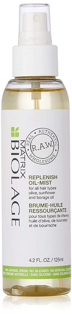 大弱点コストマトリックス Biolage R.A.W. Replenish Oil-Mist (For All Hair Types) 125ml/4.2oz並行輸入品