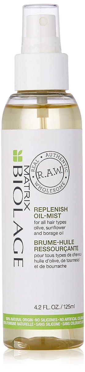 反響するかご最小化するマトリックス Biolage R.A.W. Replenish Oil-Mist (For All Hair Types) 125ml/4.2oz並行輸入品