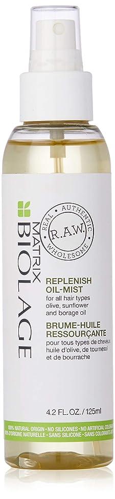 窓消えるフィクションマトリックス Biolage R.A.W. Replenish Oil-Mist (For All Hair Types) 125ml/4.2oz並行輸入品