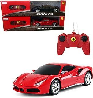 Rastar Ferrari 488 Gtb Remote Control Car, Red, 1:24, 76000R