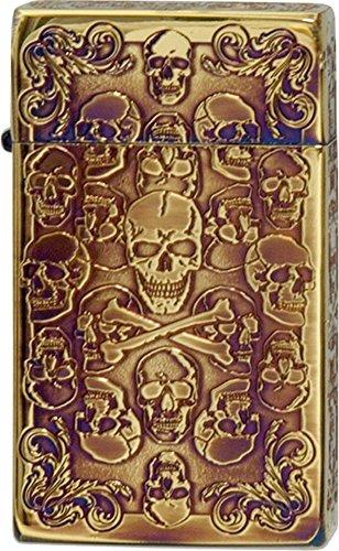 SAROME(サロメ) ターボライター SRM Skull Collection A アンティークゴールド 791012