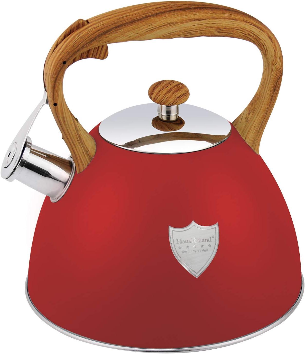 3L Tea Kettle Stovetop Whistling Arlington Mall 5 ☆ popular Pot Grade Teakettle Food St