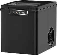 GOPLUS Machine à Glaçons 12KG en 24H avec Réservoir d'Eau 1,85L,9 Glaçons en 8 Min, Machine à Glace avecIndicateurs Automa...