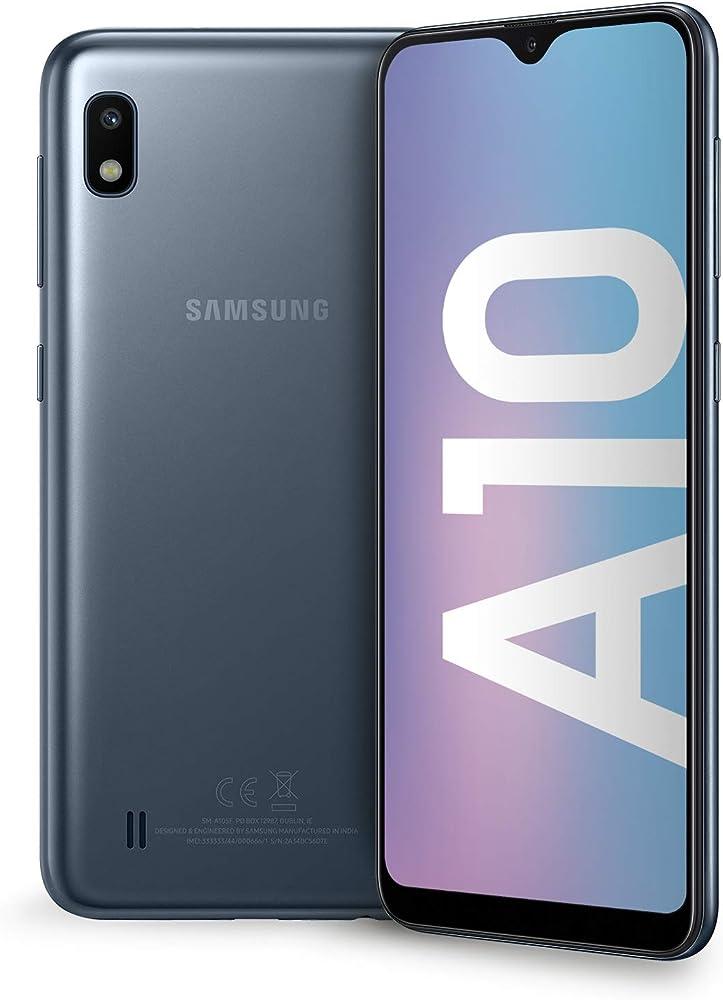 Samsung galaxy a10 smartphone dual sim, android 9 pie SM-A105FZKUITV