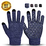 Sholov Thermal Gloves, Winter Women Gloves Touch Screen Gloves with Anti-slip Design Outdoor