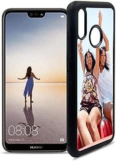 Getsingular Fundas de móvil Huawei P20 Lite Personalizadas con Fotos y Texto | Fundas Negras con los Laterales Flexibles para el Huawei P20 Lite