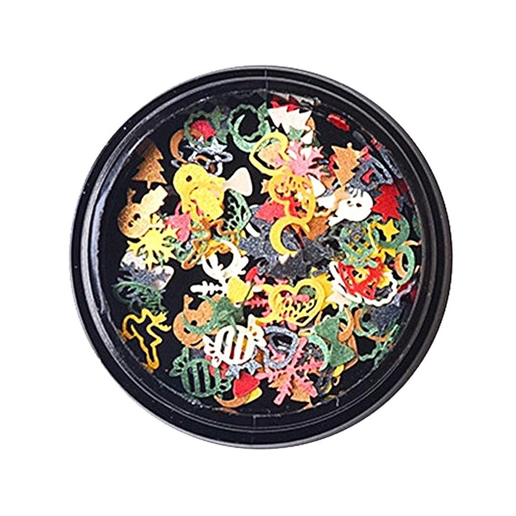B Baosity ネイルアート スノーフレーク スパンコール DIY スマホ装飾 手芸用 6タイプ選べ - 可愛いスパンコール