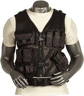 VooDoo Tactical 20-8112105330 Men's Msp-06 Entry Assault Vest, Large/XX-Large, VTC