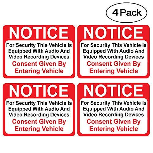 (4 Pack) Notice...