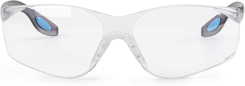 SolidWork SOLID. gafas proteccion trabajo con ajuste perfecto y protección lateral integrada | gafas de seguridad con lentes transparentes, resistentes a los arañazos, antivaho y con protección UV