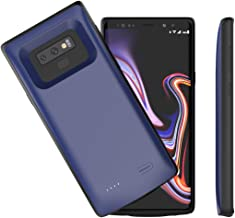 Note 9 Battery Case,Accerzone Galaxy Note 9 5000mAh External Backup Portable Charging Pack for Samsung Galaxy Note 9,Rechargeable Impact-Resistant Power Bank Case (Blue)