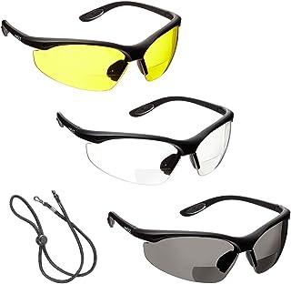 d935afc190 3 x voltX 'CONSTRUCTOR' Gafas de Seguridad de Lectura BIFOCALES que cumplen  con la