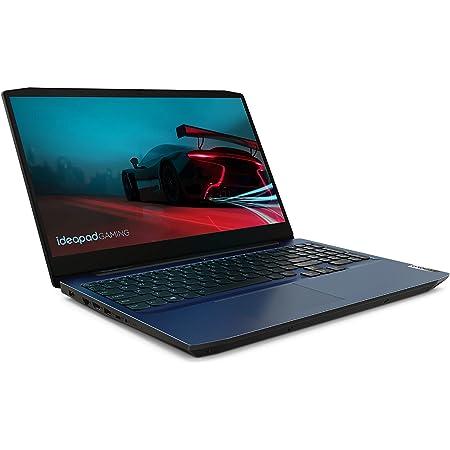 "Lenovo IdeaPad Gaming 3 - Portátil Gaming 15.6"" FullHD (AMD Ryzen 7 4800H, 16GB RAM, 512GB SSD, NVIDIA GTX1650-4GB, Sin Sistema Operativo), Color Azul- Teclado QWERTY Español"
