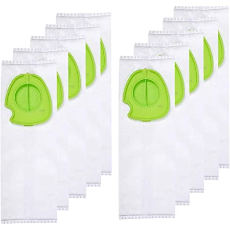 Rediboom 10 Pack Replacement Dust Bags for Gtech Pro Bagged Vacuum Cleaner ATF301