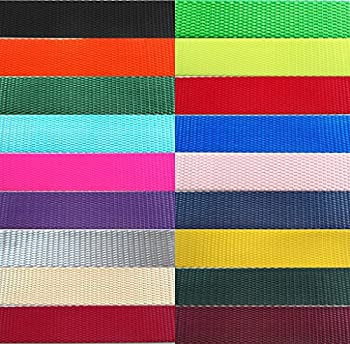 """Tapecraft Heavy Nylon Webbing Available in ½"""" 5/8"""" ¾"""" 1"""" 1 ½"""" and 2"""" Widths in Lots of 1 Yard 5 Yards 10 Yards 20 Yards and 50 Yards  1 1/2  Black 5 Yards"""