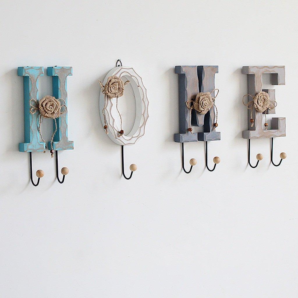 Creative light Colore : Home Combinazione Lettera Leggera Gancio decorativo a muro Parete appendente parete della parete Gancio del cappotto