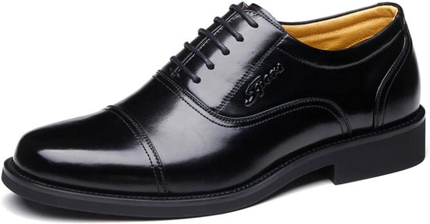 Spring Business Leather Men's Leather Classic Military Lace Up Men's shoes,Lace-upshoes-37