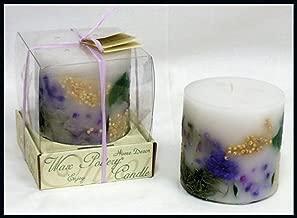 Habersham Candle Company Lilac Blossom Botanical Candle 4 X 4