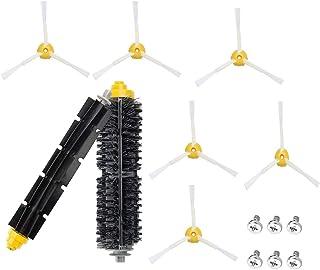 フユ萌 ルンバ 600・700シリーズ用 ブラシ メインブラシ フレキシブルブラシ 製品仕様書付き ロボット掃除機ルンバ 760 761 780 770 782e用 互換品 セット