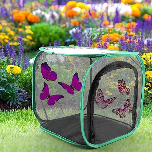 XINL Belüfteter Zuchtkäfig, tragbarer Faltbarer großer, langlebiger Zuchtkäfig, praktisch für Insekten und Schmetterlinge