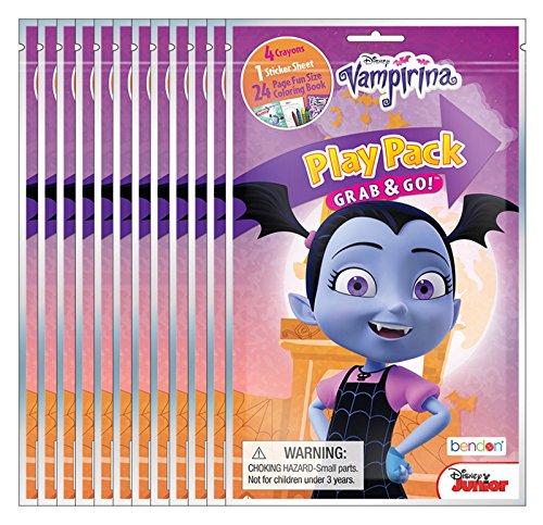 Disney Junior Vampirina Grab & Go Play Packs (Pack of 12)