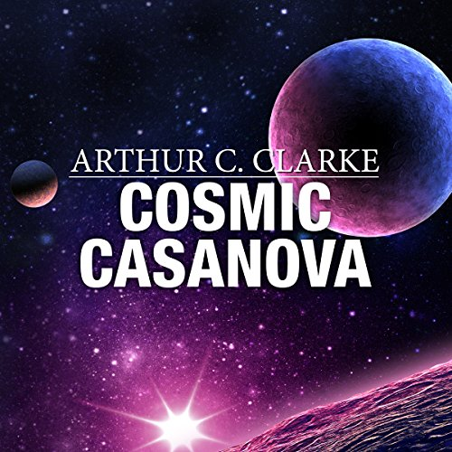 Cosmic Casanova audiobook cover art
