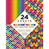 """Rainbow Patterns Gift Wrapping Papers 24 Sheets: High-quality 18 X 24"""" (45 X 61 Cm) Wrapping Paper"""
