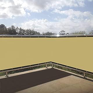 Shade&Beyond Fence Privacy Screen 3'x10' Balcony Fence Screen for Backyard Deck Patio Balcony Pool Porch Railing