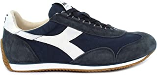 Diadora Sneaker Equipe H Canvas Stone Wash Blue Denim Taglia 47 - Colore Blu