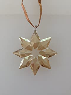 SWAROVSKI Crystal Annual 2013 SCS Gold Little Star Ornament