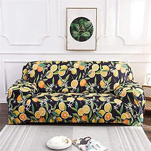BABYCOW Fundas elásticas para sofá, Fundas para Silla, Funda para sofá Estampada en Forma de L, Funda para sillón, Funda Protectora para Muebles, Protector para sofá-14_Large