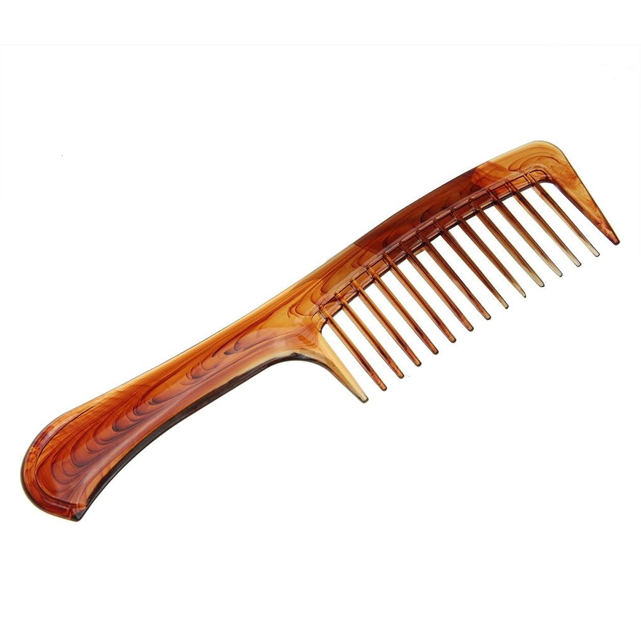 頼る生物学効率的にヘアくし 櫛 コーム 天然琥珀 静電気 防止 通りやすい 荒目 くし 頭皮マッサージ 美髪コーム 軽量 プラスチック 携帯に便利 男女兼用 くし 人気 贈り物 プレゼント B型