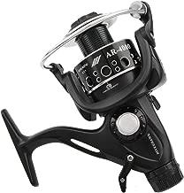 NARITA ARES3000-6000 Surf Fishing Reels 1 Way + 9 Ball Bearings Riverhawk Smooth Metal Carp Spinning Reel Bait Runner Fishing Wheel + Spare Spool