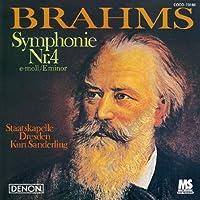 Brahms: Symphony No. 4 in E Minor Op. by Kurt Sanderling