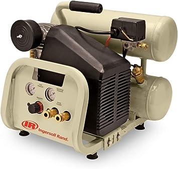 Twin-Stack P1IU-A9 2 HP 4 Gallon Portable Air Compressor: image