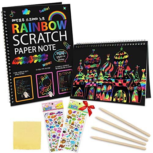 ZMLM Scratch Paper Art Notebooks...