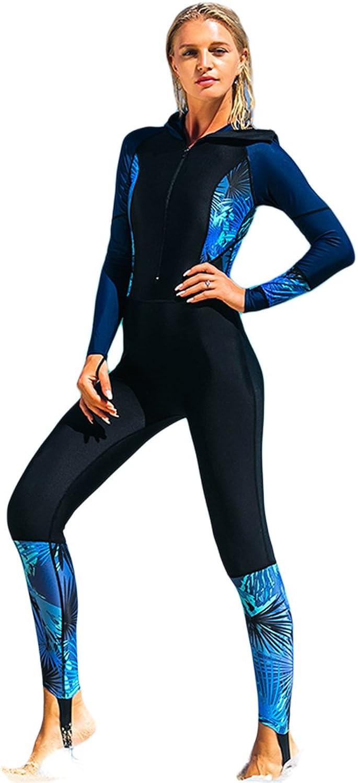 Cokar Damen Langarm Badeanzug Schwimmanzug UV-Anzug UPF 50 Schutzkleidung Sunsuit Sunsuit Sunsuit B077GV4R81  Spezielle Funktion ddd338