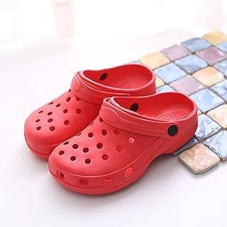 N / A Red_43 Damesschoenen, antislip mode pantoffels, voor de herfst