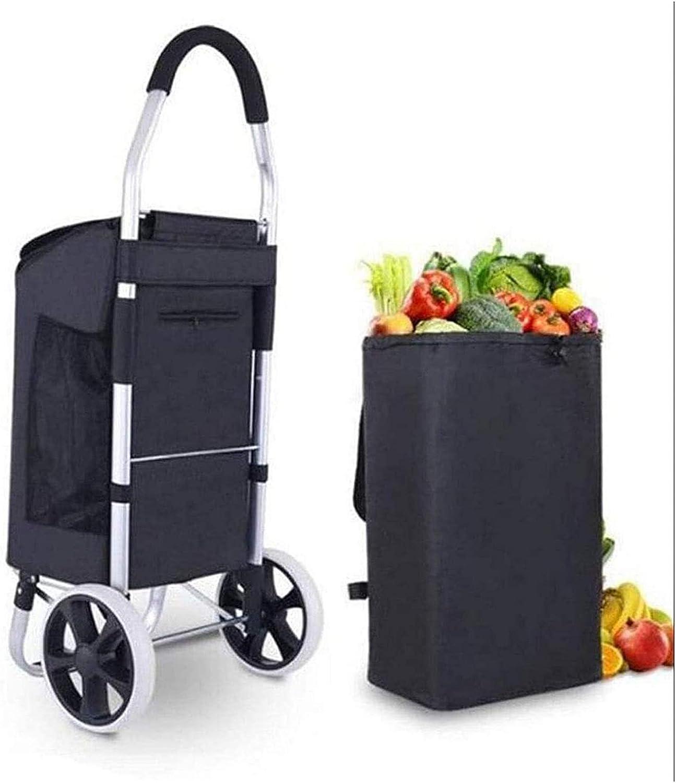 Bargain WERTYG El Paso Mall Folding Shopping Trolley 2 1 in Lightweight Tro