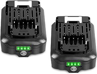 【Amazon限定ブランド】 マキタ 10.8v バッテリー 2個セット bl1015 BL1015 BL1015 BL1050 BL1060 バッテリー 掃除機 バッテリー リチウムイオン電池 CL107FDZW 充電式クリーナ 充電式ファン...