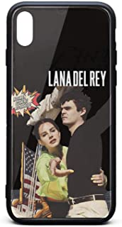 Singer Lana Del Rey iPhone X/XS Cases,Mobile Shockproof Designer Cover Case for Apple iPhone X/XS