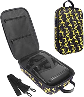 HIJIAO Hard Travel Case for Oculus Quest 2 & Quest VR Gaming Headset and Controllers Accessories Waterproof Shockproof Car...