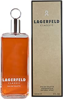 Karl Lagerfeld Classic for Men Eau de Toilette Spray, 5 Ounce
