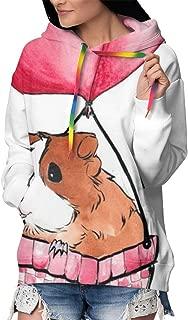 Casual Pullover Hooded Sweatshirts Streetwear for Girls Women