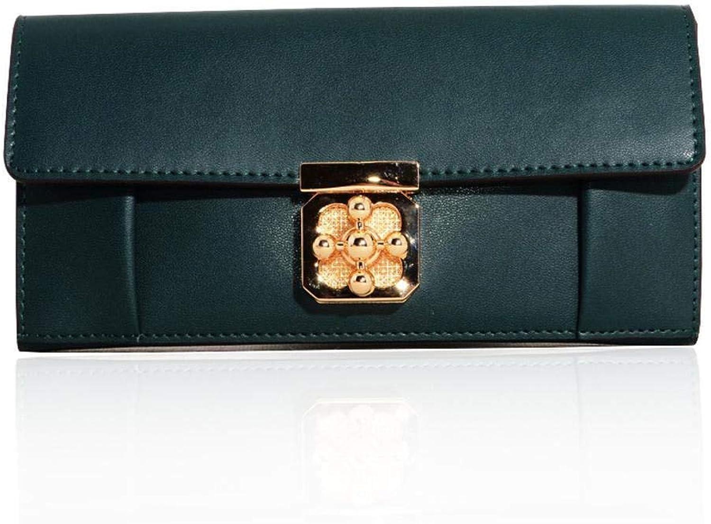 Girls Purse Women's Wallet,Female Wallet PU Leather Buckle Purse